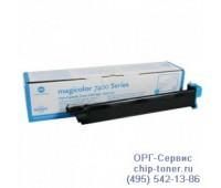 Картридж голубой Konica Minolta Magicolor 7450 ,оригинальный  Уценка :Отсутствует картонная упаковка.