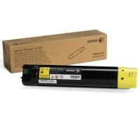 Картридж 106R01525 желтый для Xerox Phaser 6700 / Xerox Phaser 6700N / Xerox Phaser 6700DN оригинальный