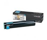 Картридж C930H2CG голубой повышенной емкости для Lexmark C935 оригинальный