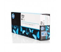 Картридж серый HP 727 / F9J80A повышенной емкости для HP DesignJet T920 / T930 / T1500 / T1530 / T2500 / T2530 (300МЛ.) оригинальный
