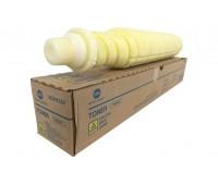 Картридж TN-619Y / A3VX250 желтый для Konica Minolta Bizhub C1060 / C1060 PRESS / C1070 / C1070P оригинальный