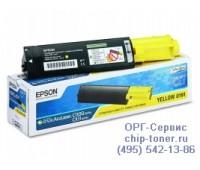 Картридж C13S050187 желтый Epson AcuLaser C1100 / CX11N оригинальный